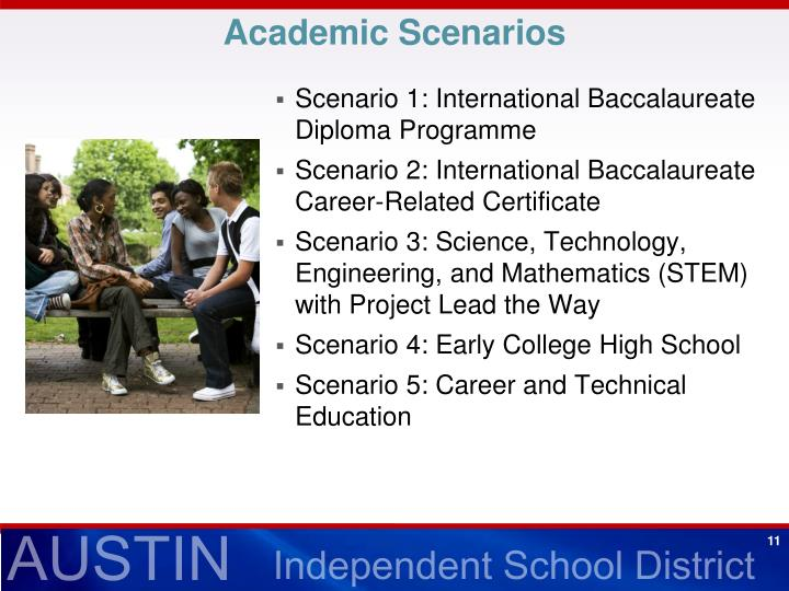 Academic Scenarios