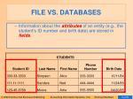 file vs databases1