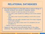 relational databases10