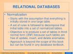 relational databases14