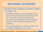 relational databases16