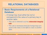 relational databases7