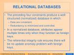 relational databases9