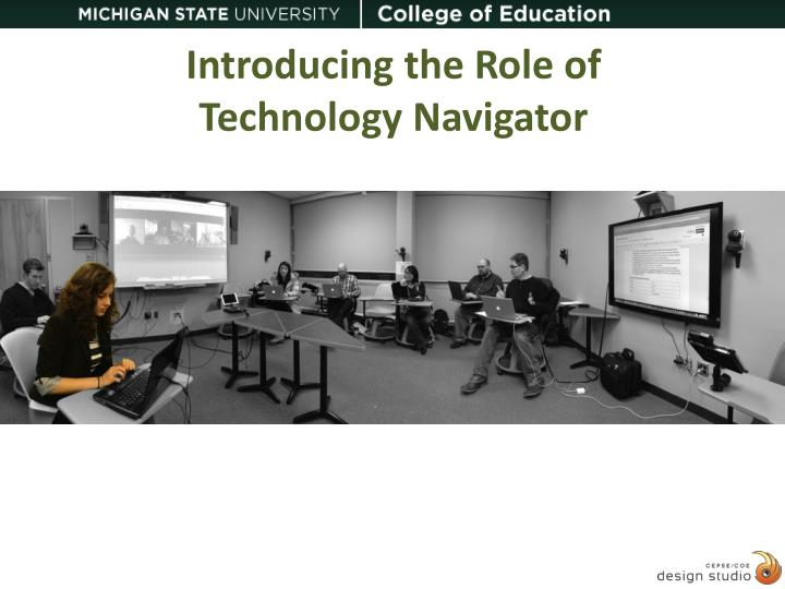 introducing the role of technology navigator n.