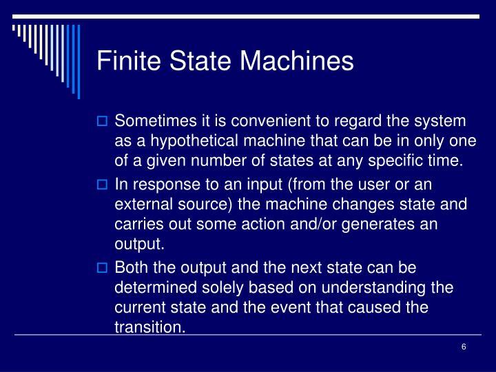 Finite State Machines