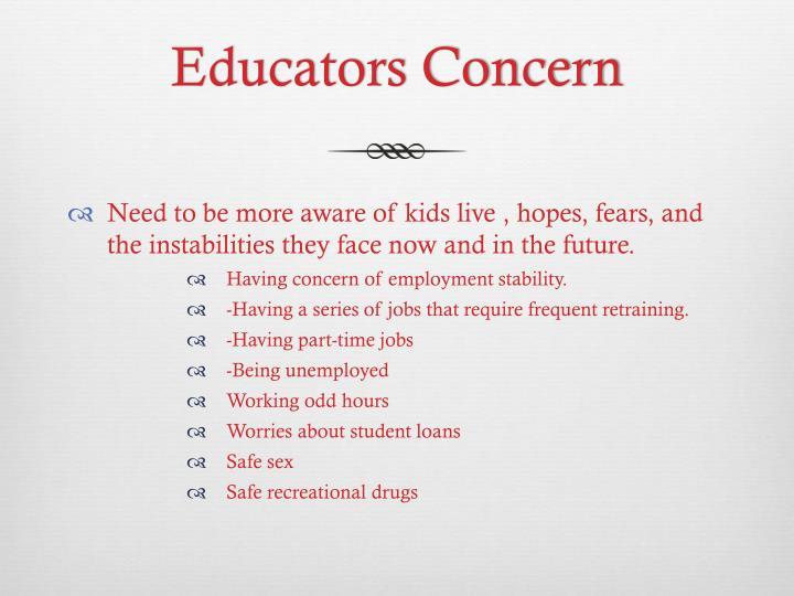 Educators Concern