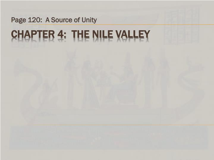 Page 120 a source of unity