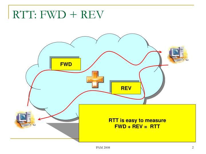 Rtt fwd rev