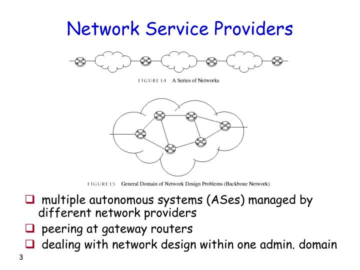 Network service providers