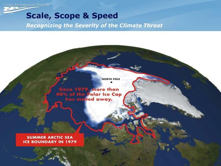 Scale, Scope & Speed