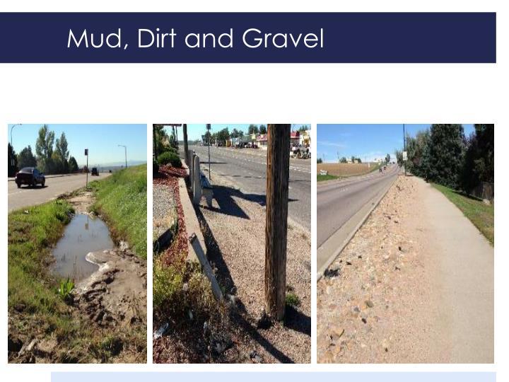 Mud, Dirt and Gravel