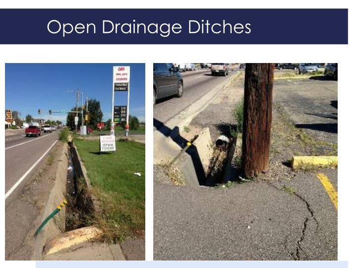 Open Drainage Ditches
