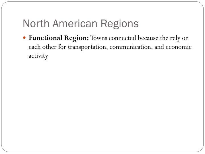 North American Regions