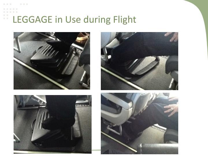 LEGGAGE in Use