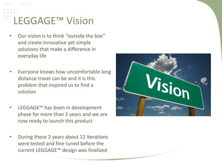 Leggage vision