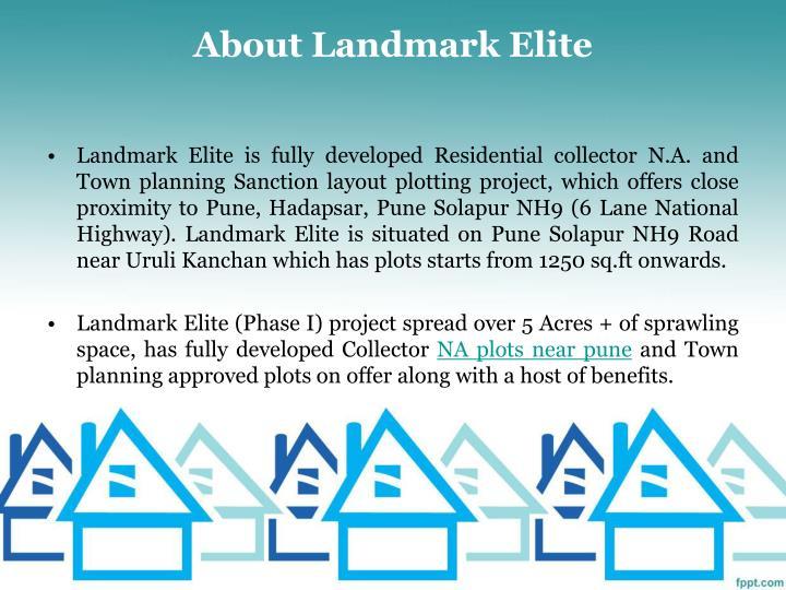 About landmark elite