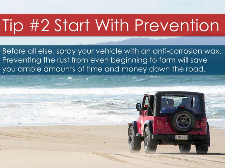 Tip #2 Start With Prevention