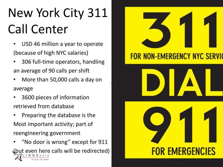 New York City 311