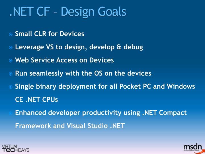 .NET CF