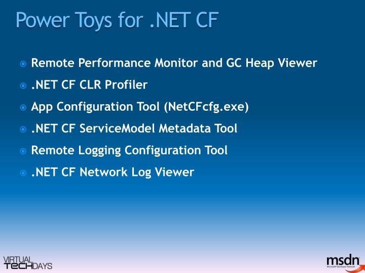 Power Toys for .NET CF
