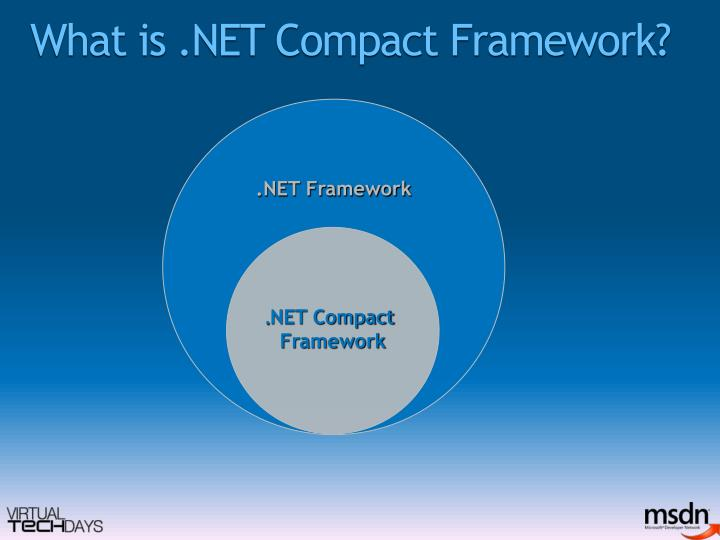 What is net compact framework