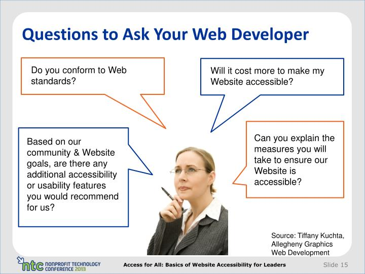 Questions to Ask Your Web Developer