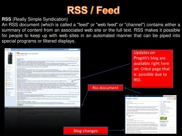 RSS / Feed