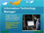 information technology manager