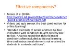 effective components