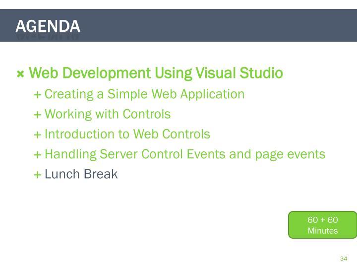 Web Development Using Visual Studio