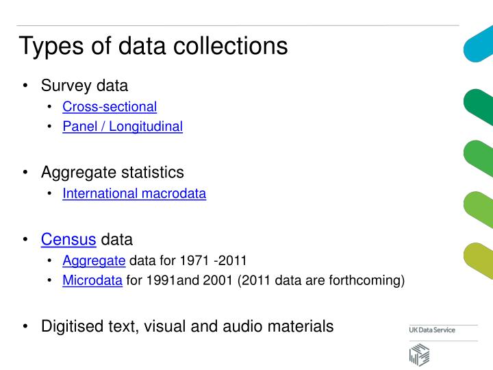 Types of data collections