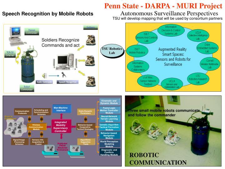 Penn State - DARPA - MURI Project