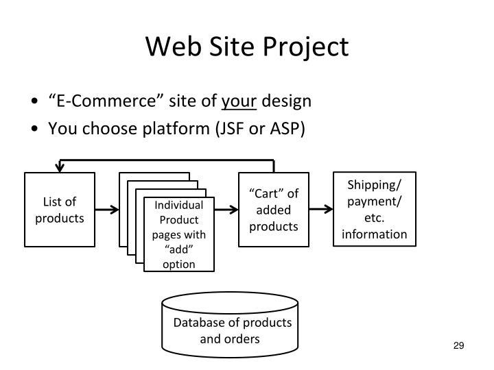 Web Site Project