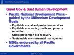 good gov sust human development1