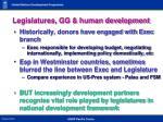 legislatures gg human development