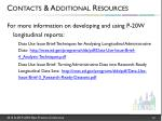 contacts additional resources1