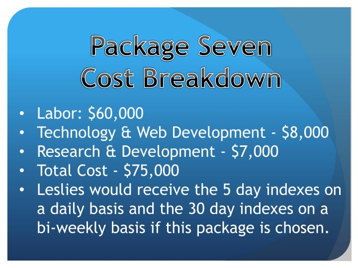 Package Seven