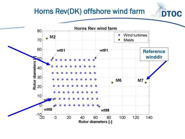 Horns Rev(DK) offshore wind farm