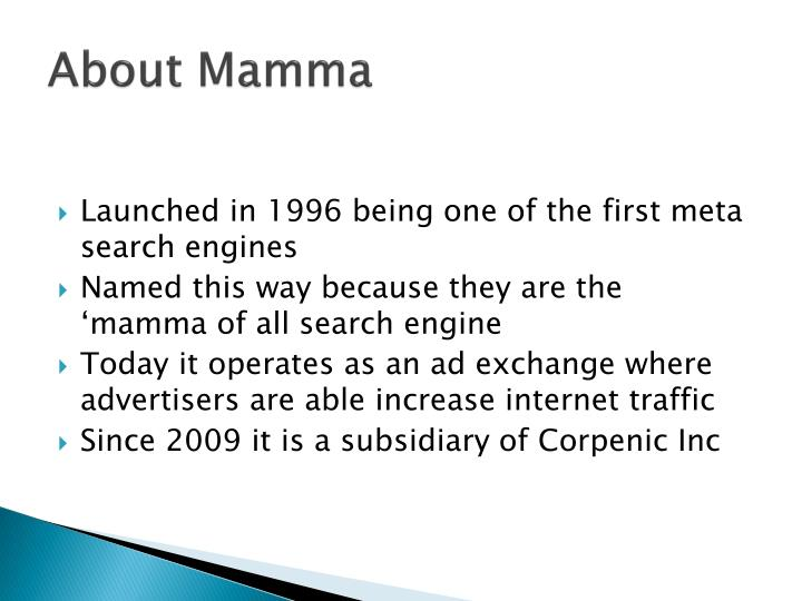 About mamma