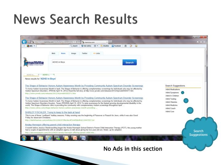News Search Results