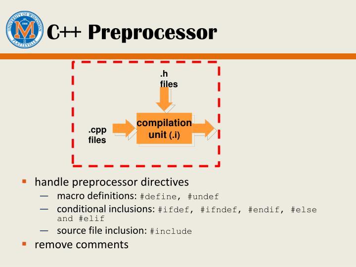 C++ Preprocessor
