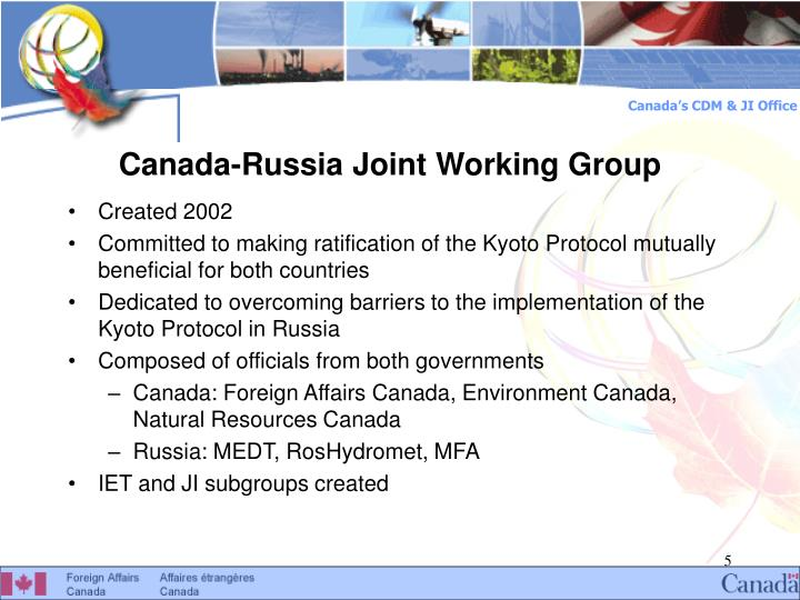 Canada-Russia Joint Working Group