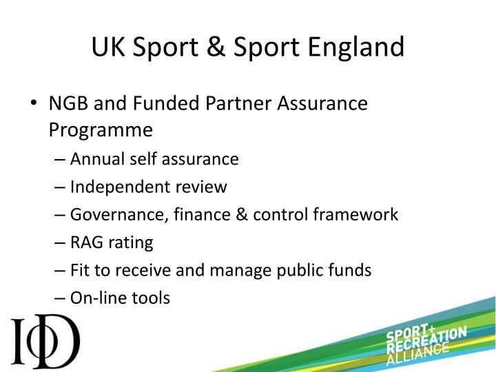 UK Sport & Sport England