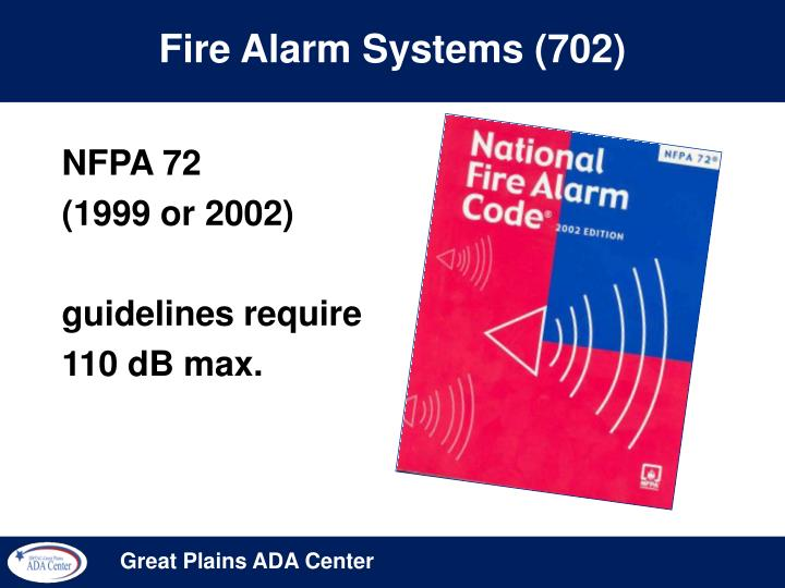 Fire Alarm Systems (702)