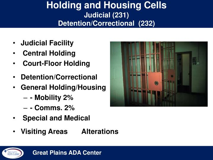 Holding and Housing Cells