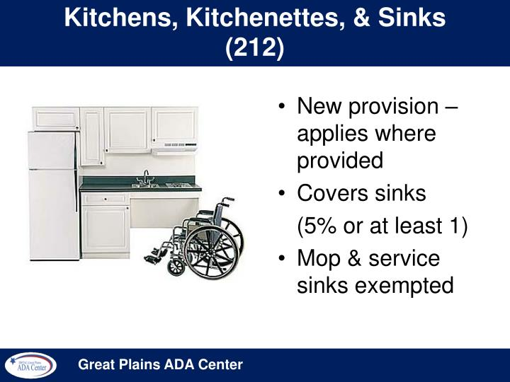 Kitchens, Kitchenettes, & Sinks (212)