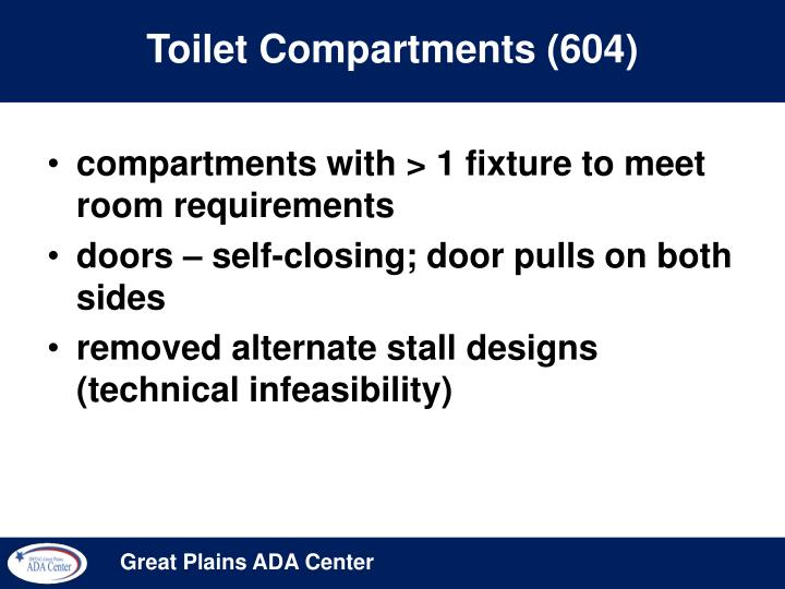 Toilet Compartments (604)
