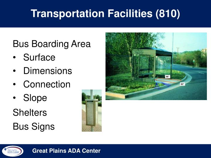 Transportation Facilities (810)