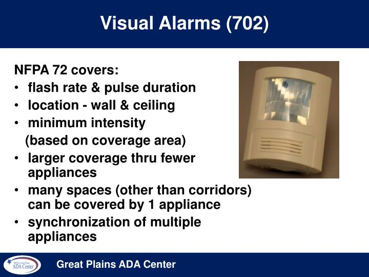 Visual Alarms (702)