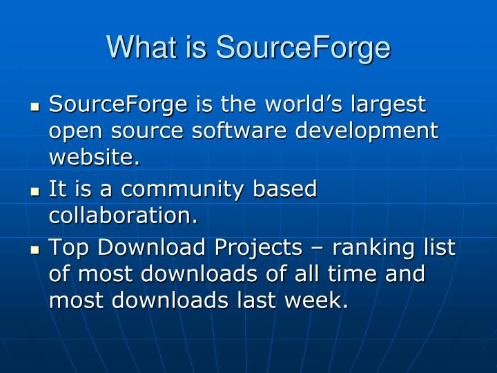 What is sourceforge